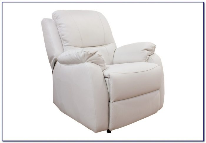 White Leather Recliner Chair Uk
