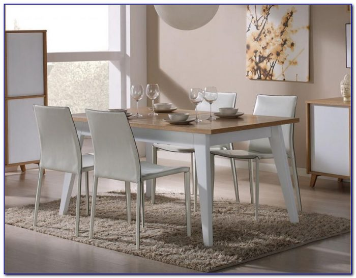 White Oak Dining Room Table And Chairs