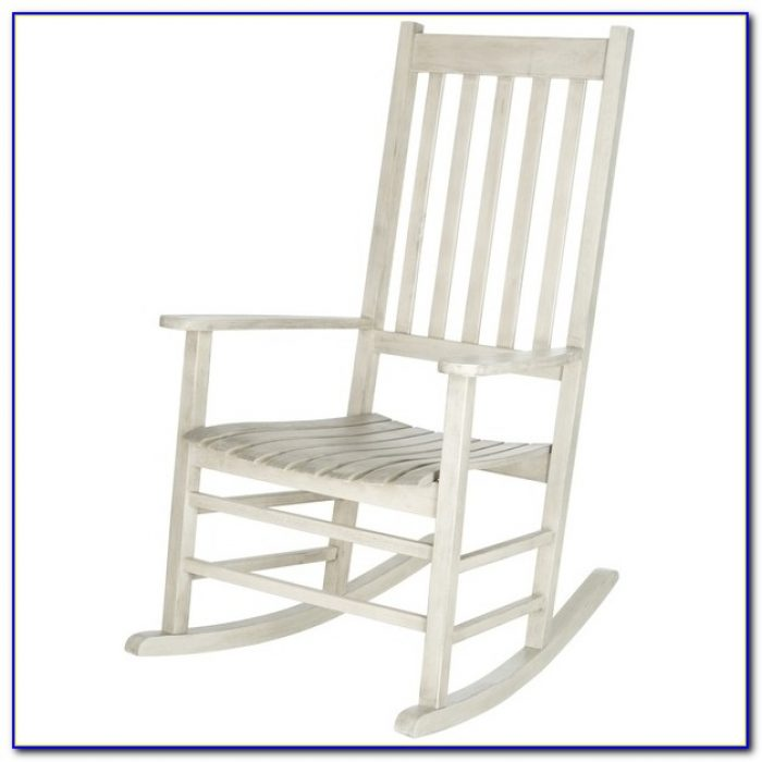 White Wooden Rocking Chair Uk