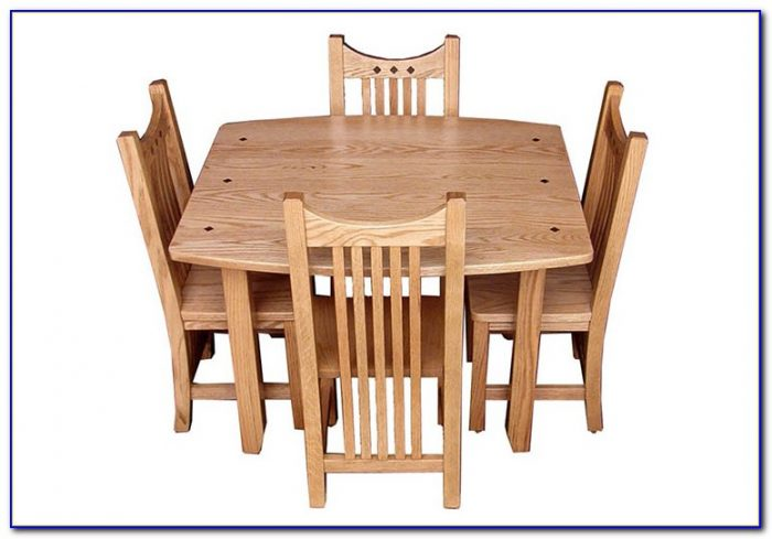 Wooden Children's Table And Chairs