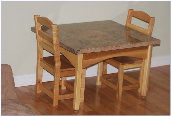 Wooden Childrens Table And Chairs Ebay