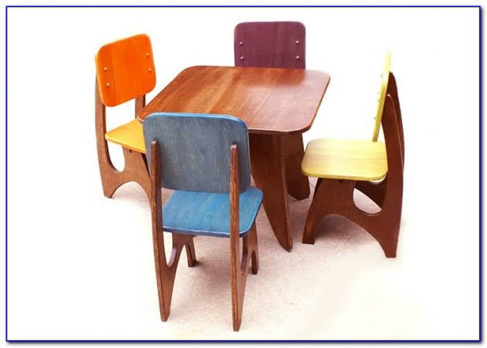 Wooden Childrens Table And Chairs Nz