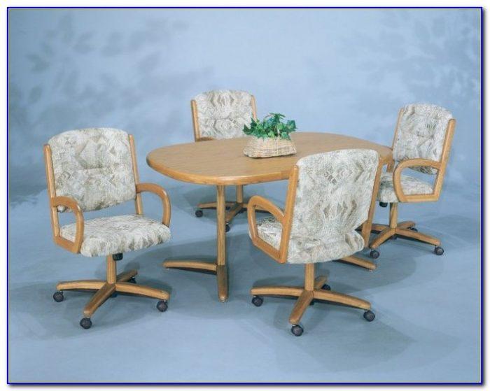 Wooden Kitchen Chairs On Wheels