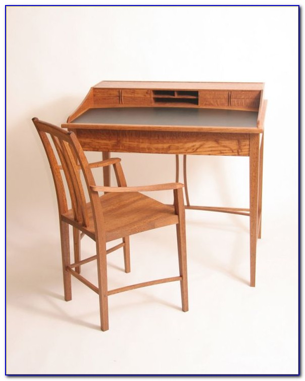 Writing Desk With Accent Chair