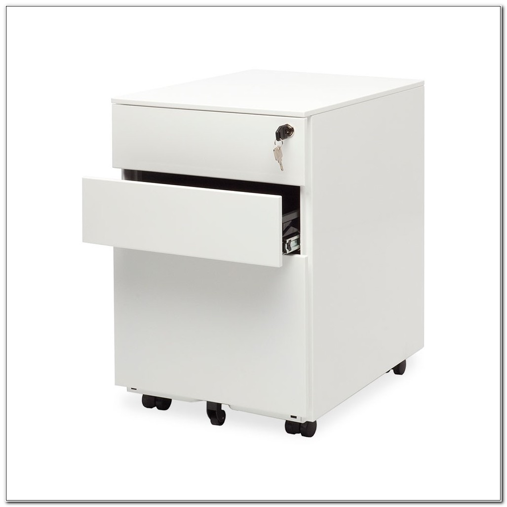 1 Drawer Filing Cabinet With Lock