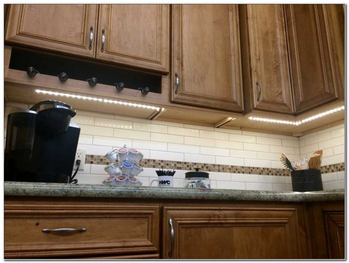 12v Vs 120v Under Cabinet Lighting