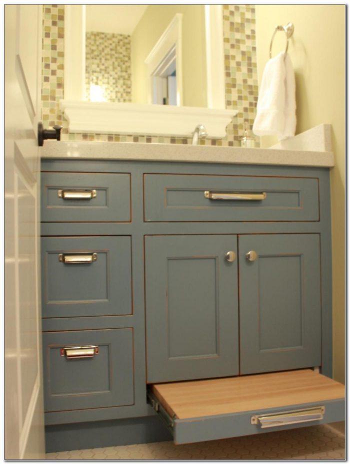 18 Inch Deep Bathroom Base Cabinets