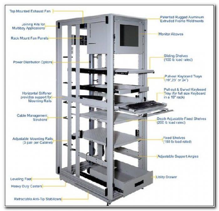 19 Server Rack Enclosure