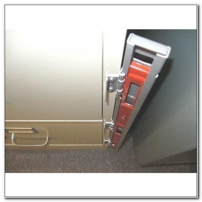 2 Drawer File Cabinet Locking Bar