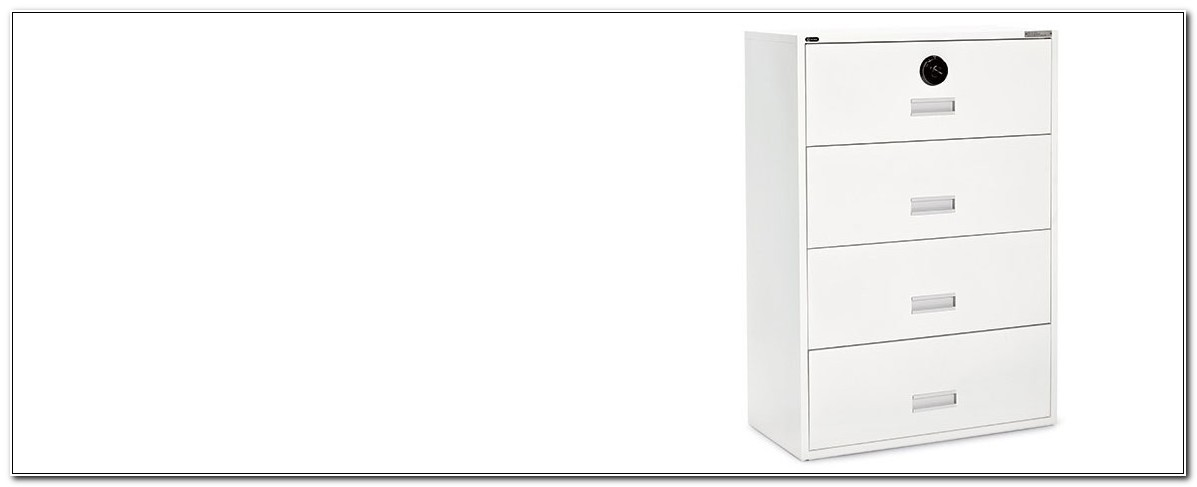 2 Drawer Filing Cabinet With Combination Lock