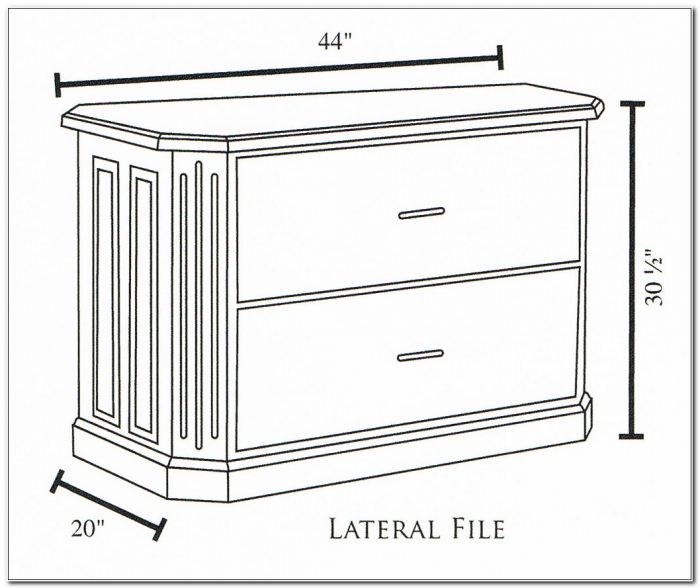 2 Drawer Lateral File Cabinet Dimensions