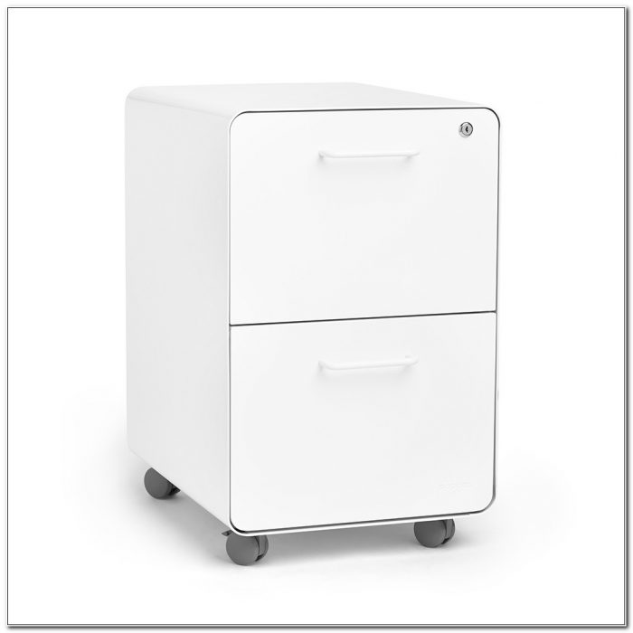 2 Drawer Lateral File Cabinet On Wheels