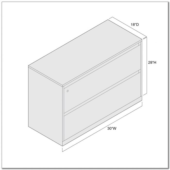 2 Drawer Lateral Filing Cabinet Dimensions