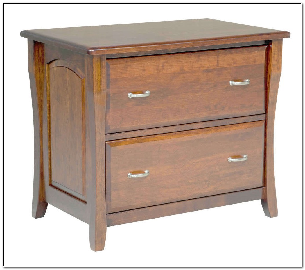 2 Drawer Lateral Filing Cabinet Wood