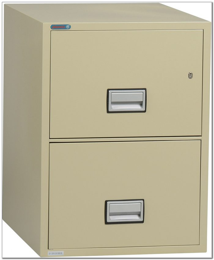 2 Drawer Legal Fireproof File Cabinet