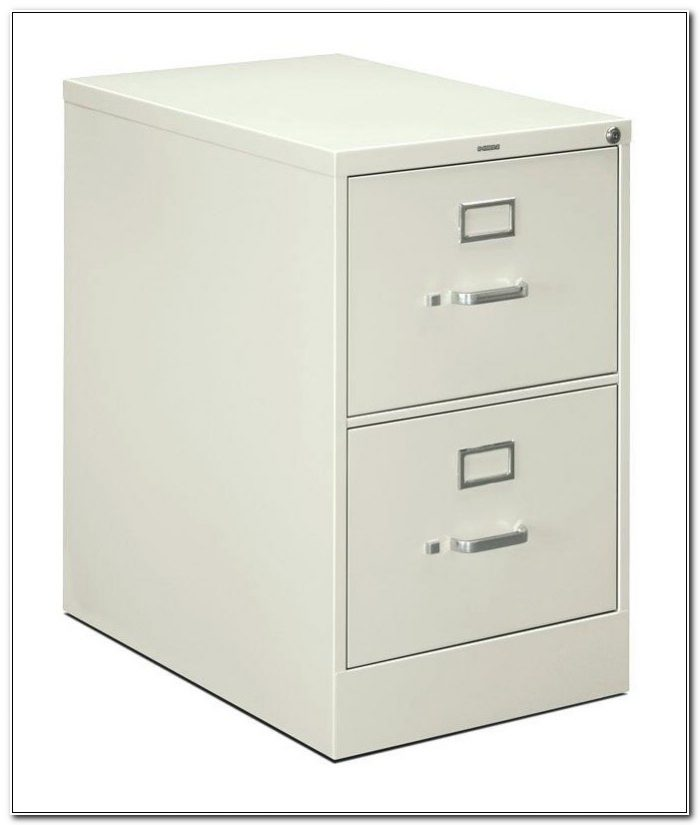 2 Drawer Vertical Mobile File Cabinet
