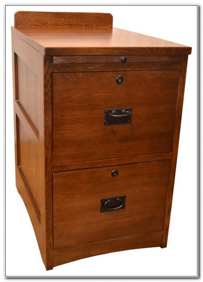 2 Drawer Wooden File Cabinets