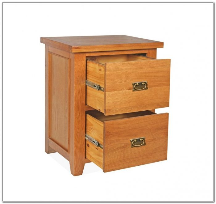 2 Drawer Wooden Filing Cabinet Uk