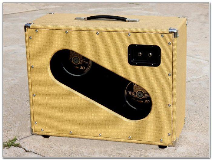 2x12 Guitar Speaker Cabinet