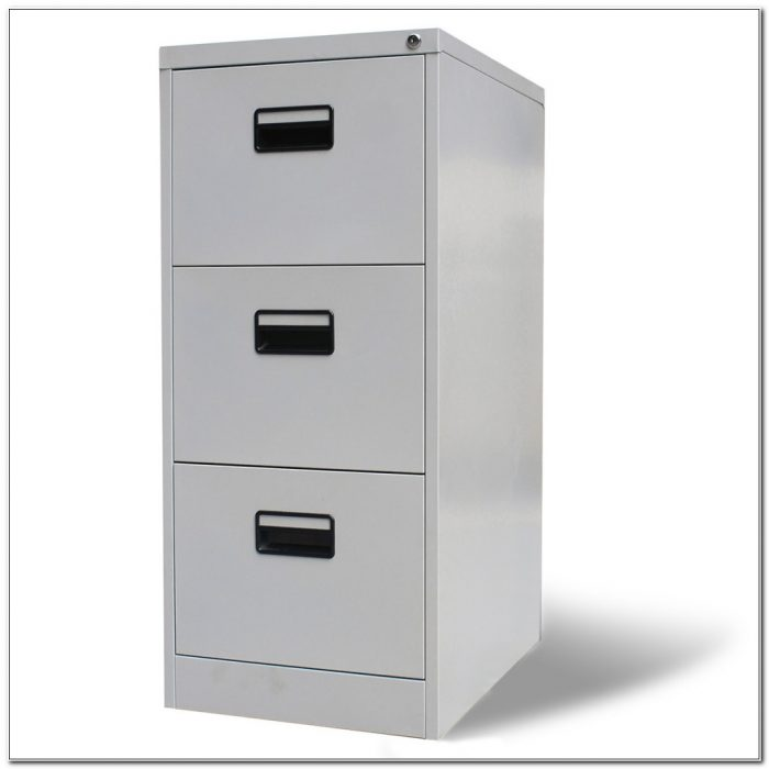 3 Drawer File Cabinet Metal