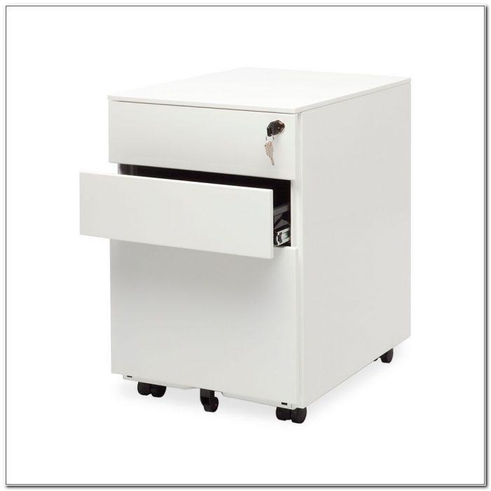 3 Drawer Metal File Cabinet On Wheels
