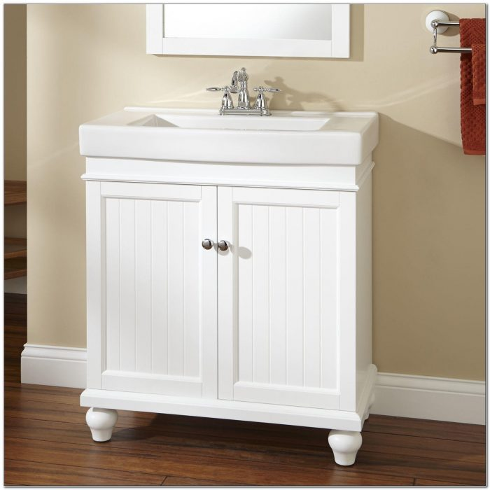 30 Inch Bathroom Vanity Cabinet White
