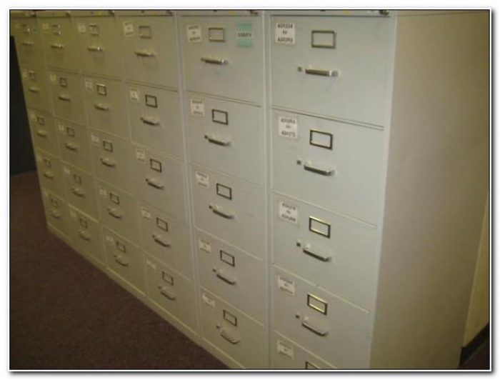 4 Drawer Legal File Cabinet Used