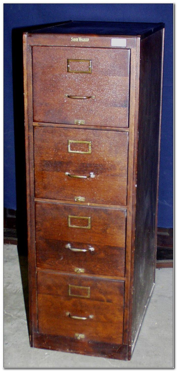 5 Drawer File Cabinet Wood
