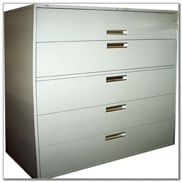 5 Drawer Vertical File Cabinet Used