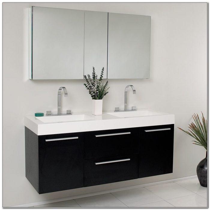 54 Double Sink Vanity Cabinet