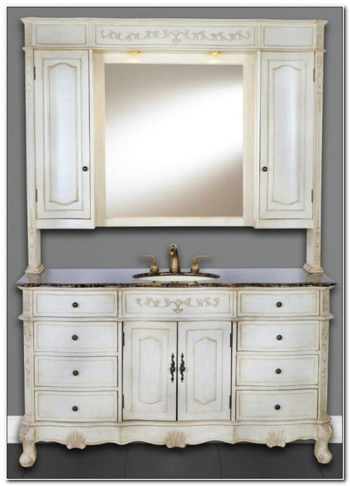 72 Single Sink Bathroom Vanity Cabinets