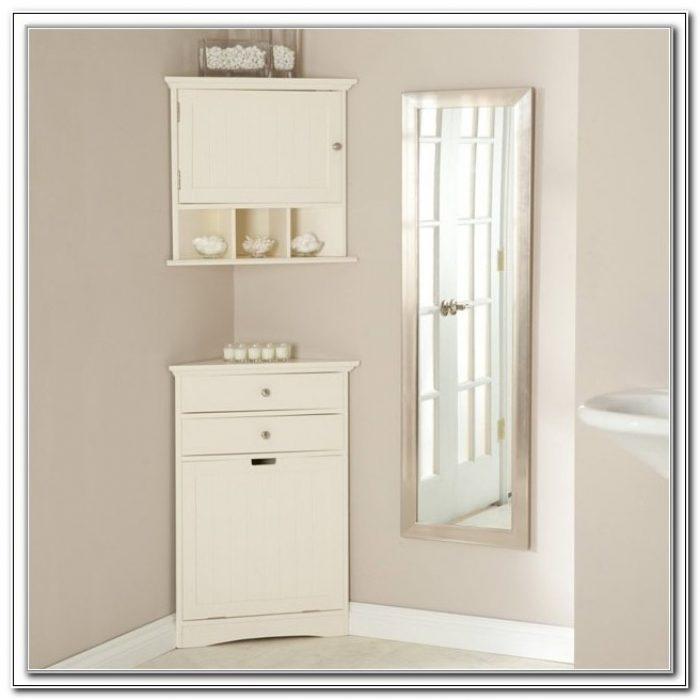 Adelaide Tall Corner Bathroom Cabinet