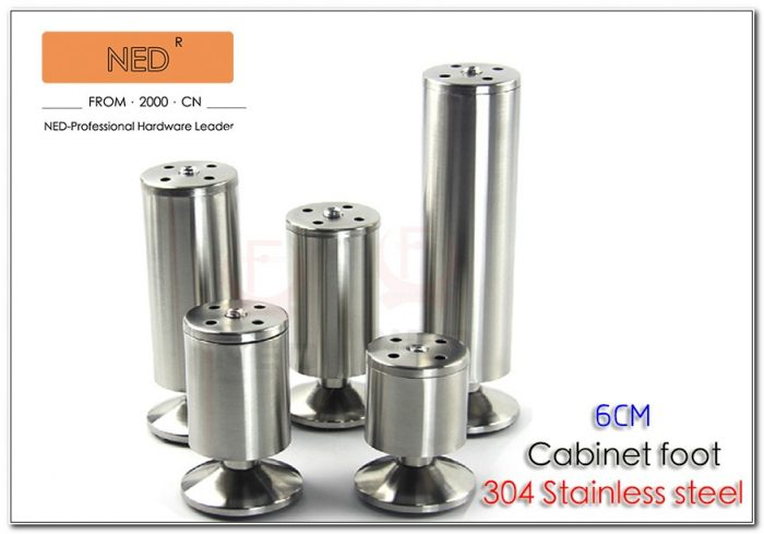 Adjustable Stainless Steel Legs For Cabinets
