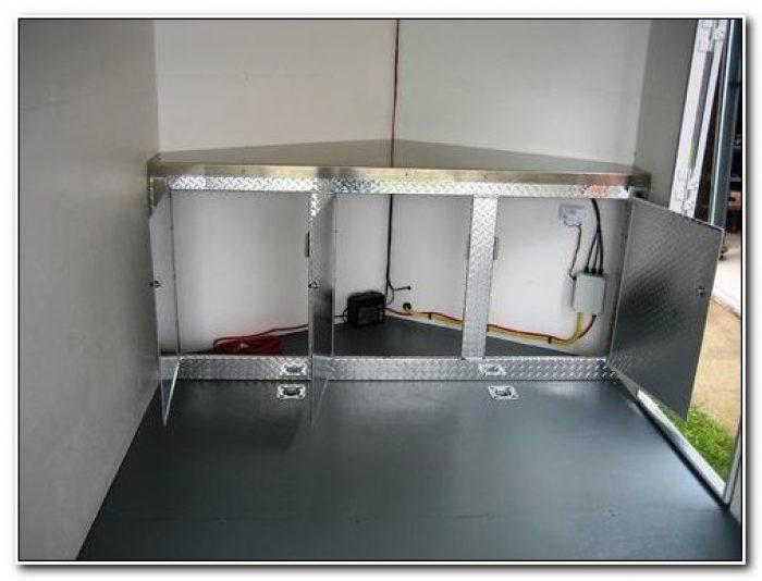 Aluminum V Nose Trailer Cabinets