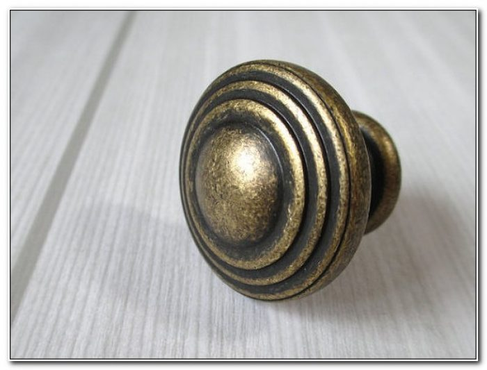 Antique Brass Cabinet Handles