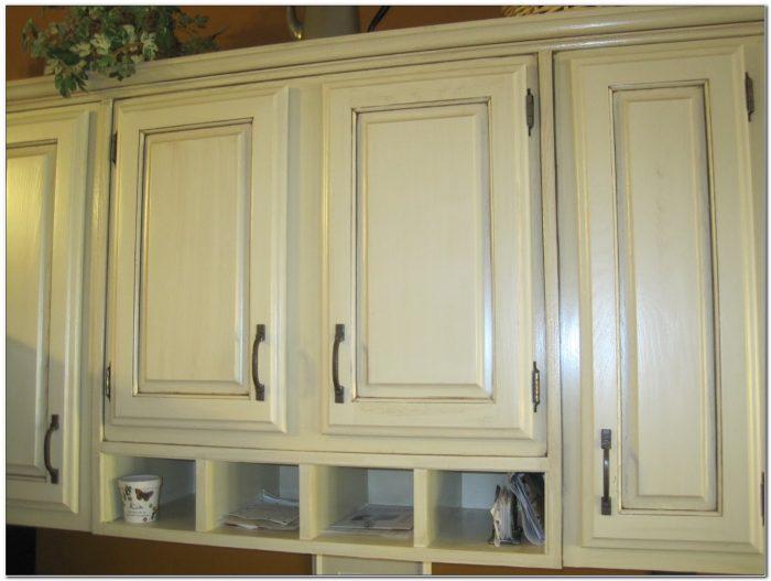 Antique Refinishing Oak Kitchen Cabinets