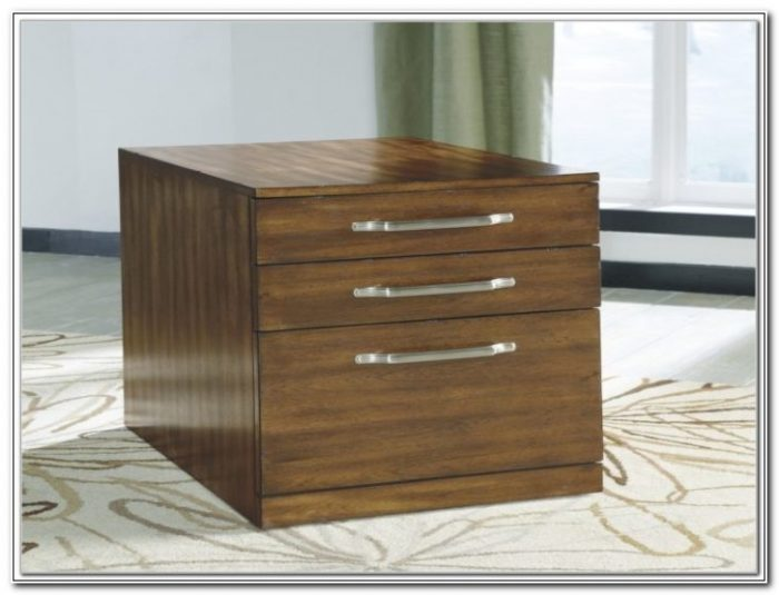 Ashley Furniture Wood File Cabinet