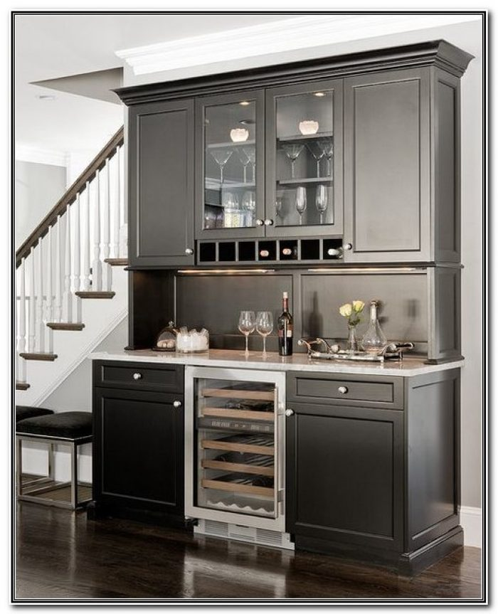 Bar Cabinet With Built In Fridge
