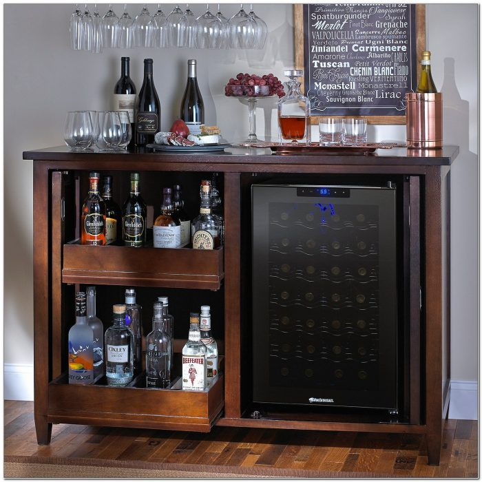 Bar Cabinet With Fridge Space