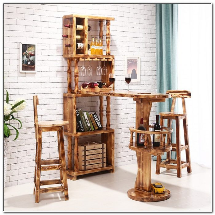 Bar Wine Rack Cabinet