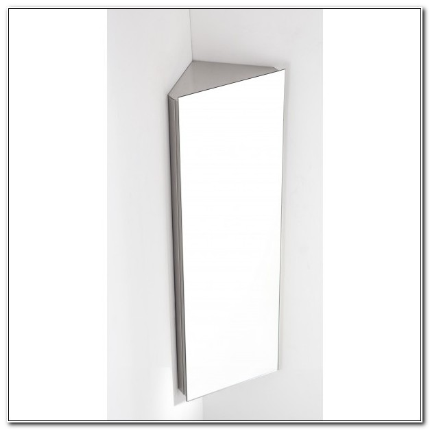 Bathroom Corner Mirror Cabinet
