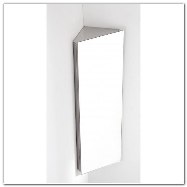Bathroom Corner Wall Mirror Cabinet