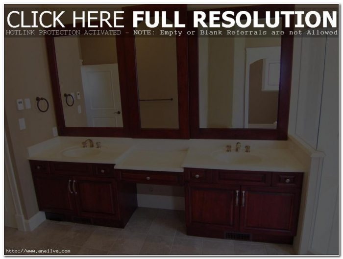Bathroom Double Sink Cabinet Ideas