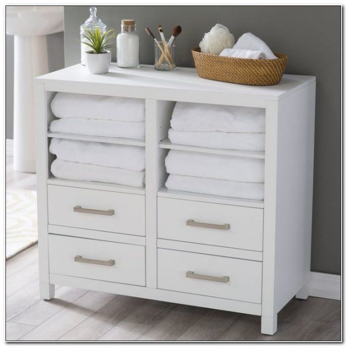 Bathroom Floor Cabinets With Drawers