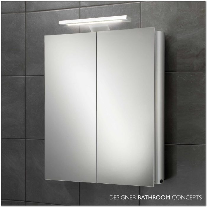 Bathroom Light Mirror Cabinet