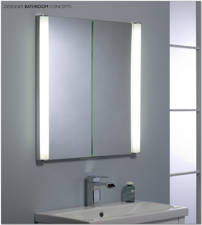 Bathroom Mirror Cabinet With Lights Uk