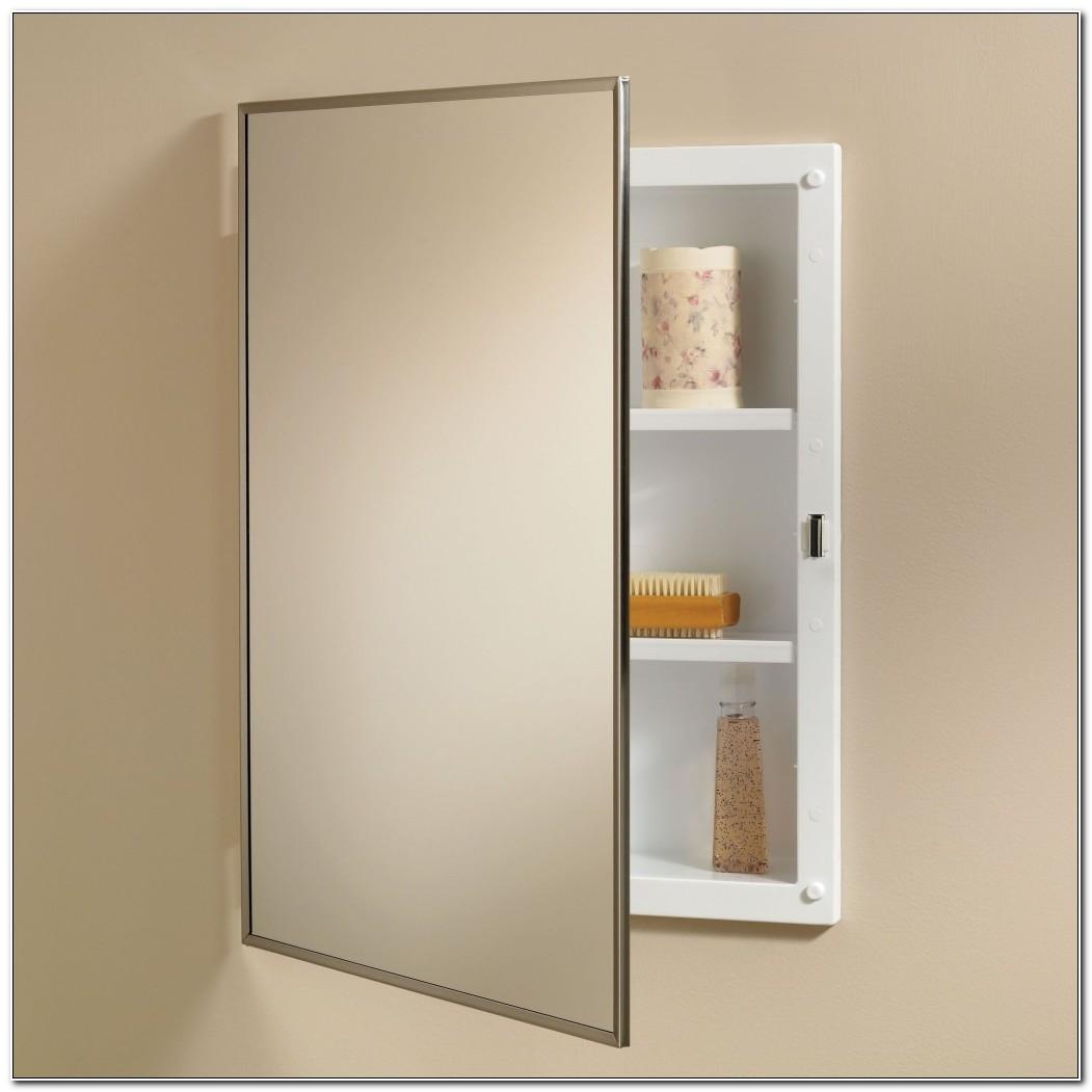 Bathroom Mirror Medicine Cabinet Recessed