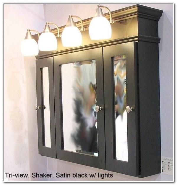 Bathroom Mirror Medicine Cabinet With Lights