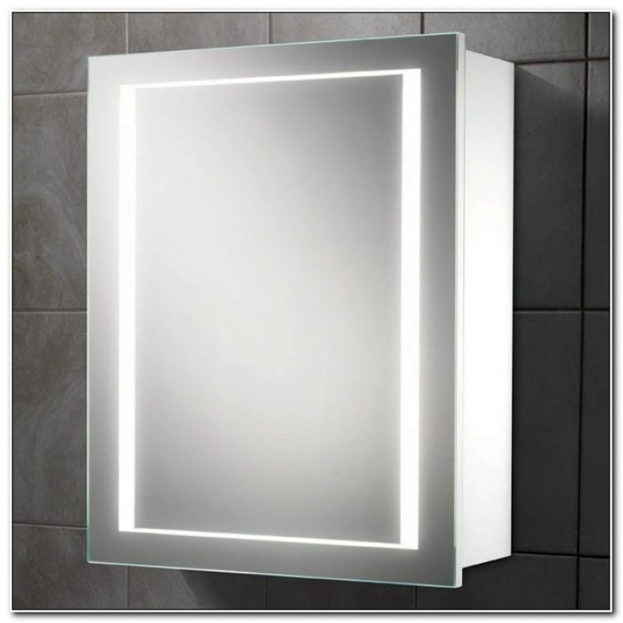 Bathroom Mirrored Cabinets With Lights