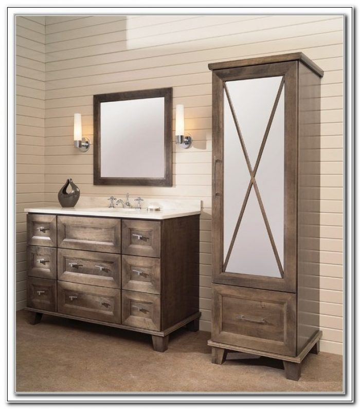 Bathroom Vanities With Matching Linen Cabinets